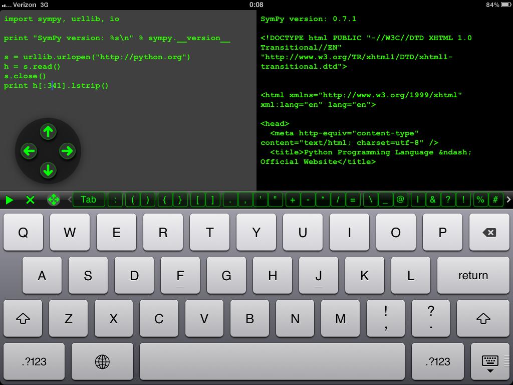 无事来段小程序?Python for iOS同时支持iPhone和iPad