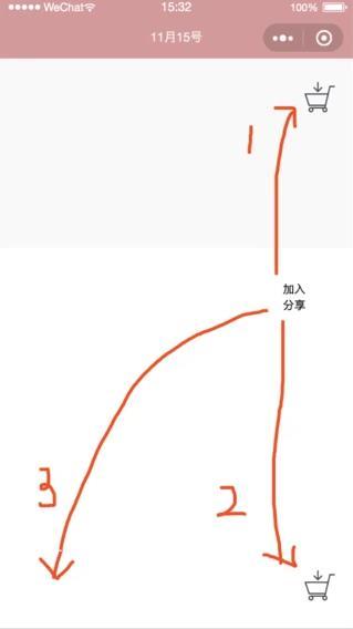 微信小程序加入购物车动画的实现(向上、向下)